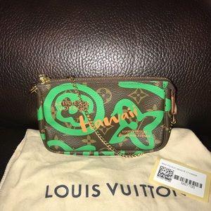 Authentic Louis Vuitton Hawaii Mini Pouchette
